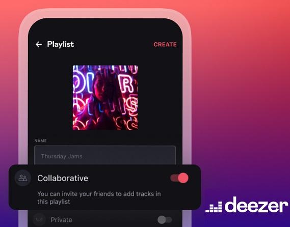 Deezer's Collaborative Playlist