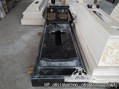 Makam Granit Jakartanan, Makam Kristen Granit, Makam Kristen Minimalis