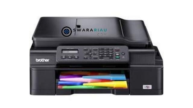 Cara Setting Koneksi WiFi Printer Brother MFC-J200