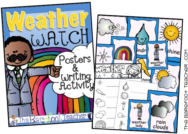 Are you teaching a weather unit? These interactive activities are a perfect addition to the rest of your spring lesson plans, ideas, and crafts. Whether for Preschool, Kindergarten, or First Grade, kids will love the interactive pages of this science notebook!