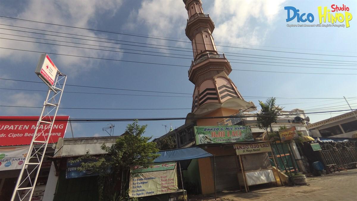 Masjid Jami' Isma'il, Jalan Doktor Cipto, Bedali, Malang, Jawa Timur