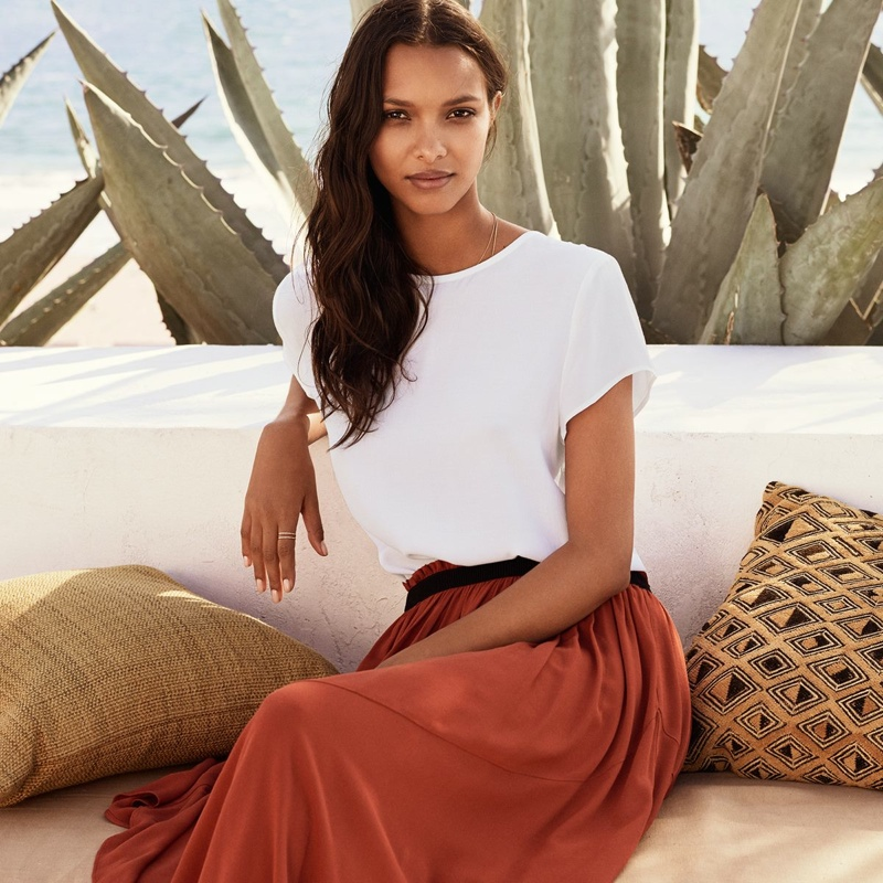 H&M Summer 2015 Style Update featuring Lais Ribeiro