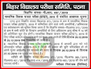 STET 2019 Re-apply