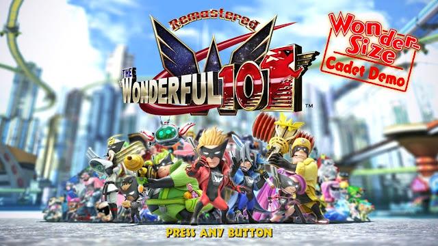 Demo de The Wonderful 101: Remastered é disponibilizada na eShop do Switch