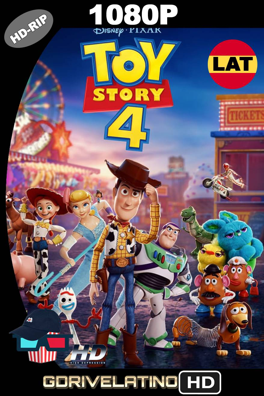 Toy Story 4 (2019) HDRIP 1080p Latino-Ingles MKV