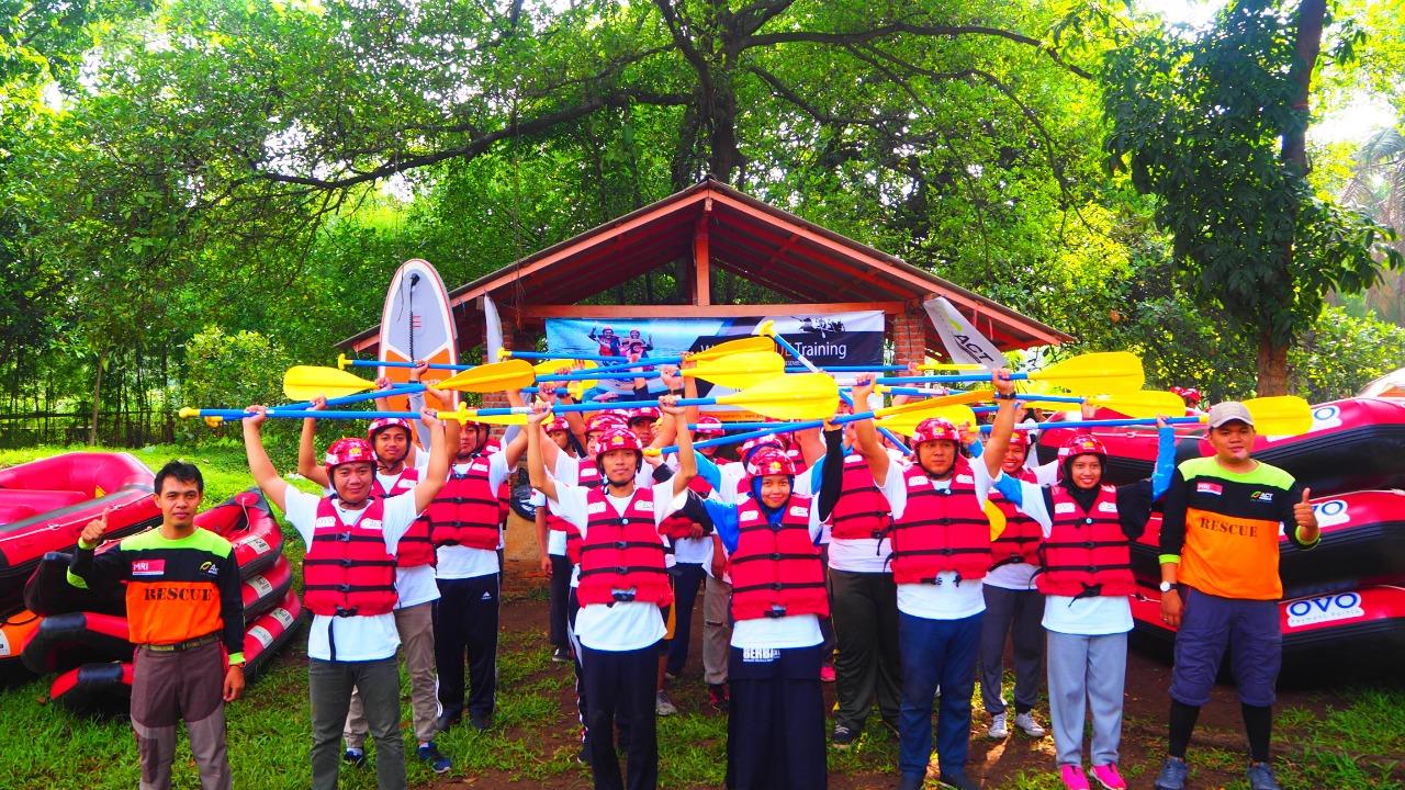 Siaga Bencana di Musim Hujan, Masyarakat Relawan Indonesia (MRI) Gelar Pelatihan Water Rescue