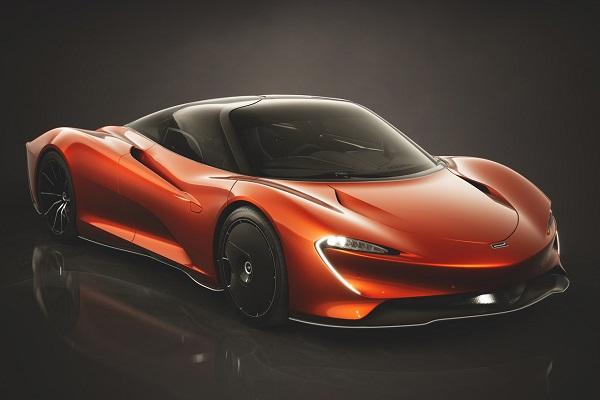 McLaren Speedtail Astral