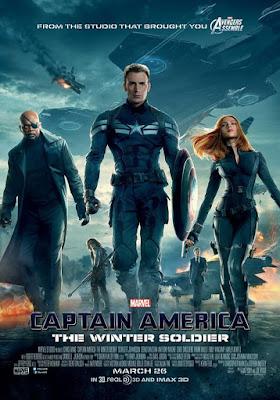 Captain America The Winter Soldier 2014 Dual Audio Hindi 720p BluRay ESub 950MB
