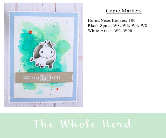 Heather's Hobbie Haven - Color Wednesday - The Whole Herd