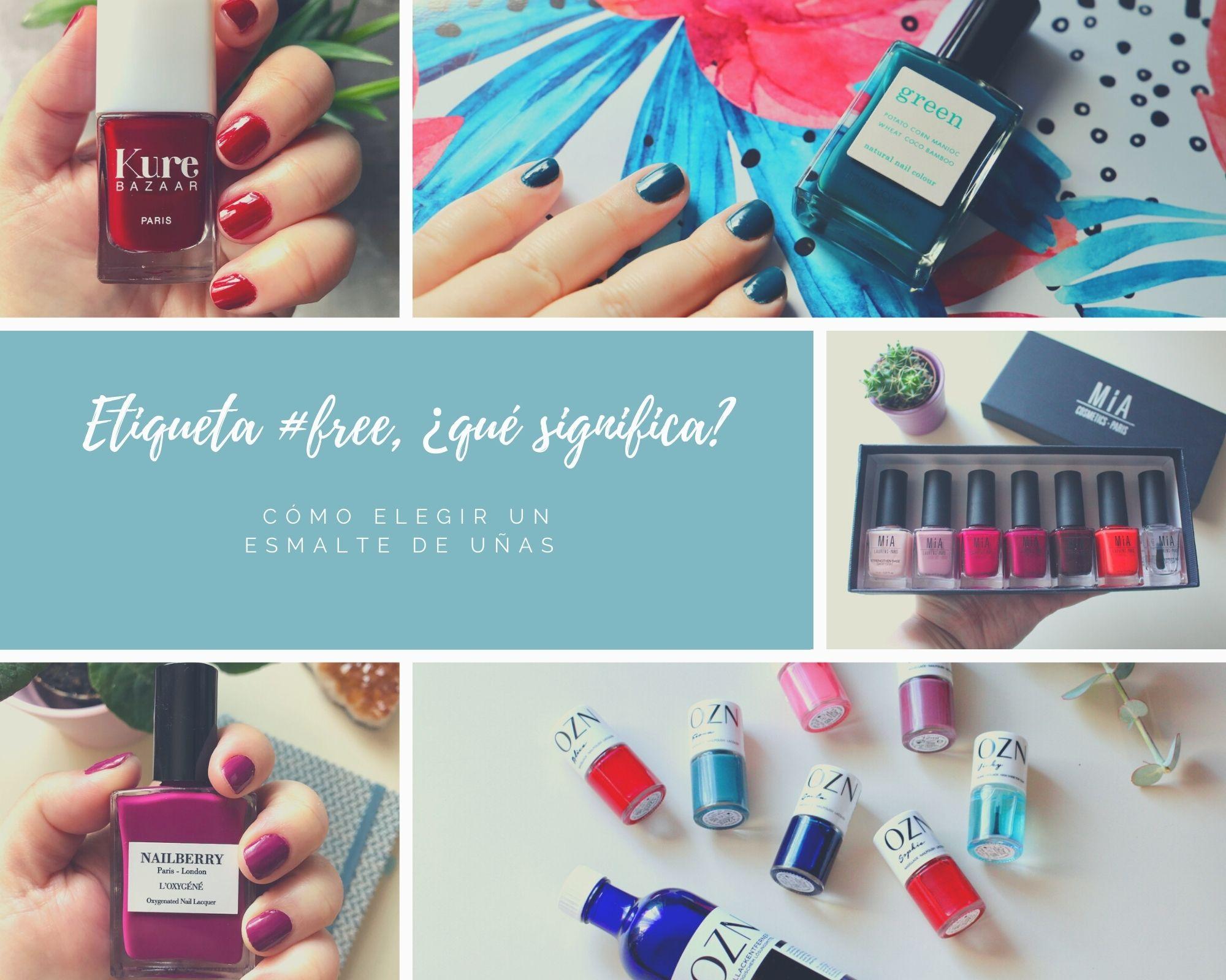 esmalte uñas, toxic free, #free,