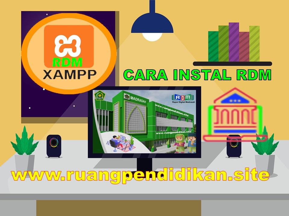 Instal RDM HD Madrasah Versi XAMPP