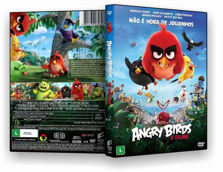 DVD Angry Birds - O Filme 2016 - ISO