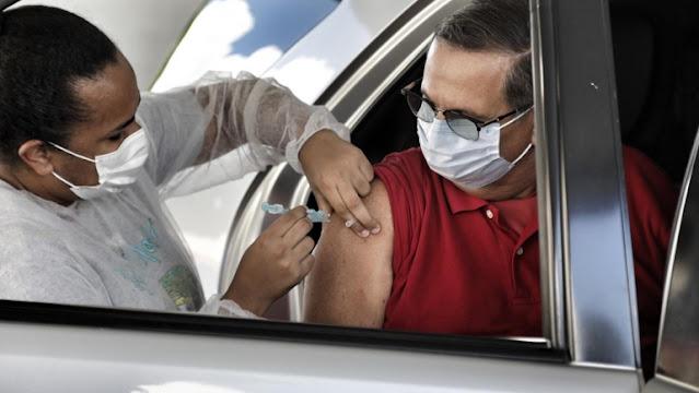 Recife é a capital com maior percentual de vacinados contra a covid-19 com a segunda dose do Brasil