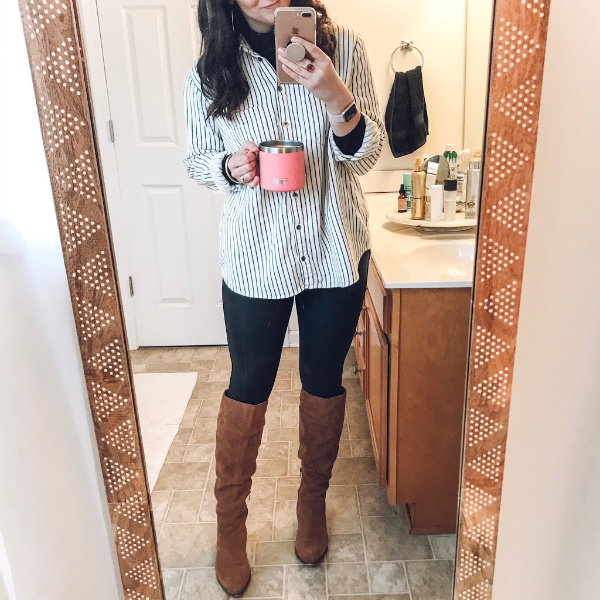 nc blogger, north carolina blogger, mom style, winter outfit ideas, style on a budget