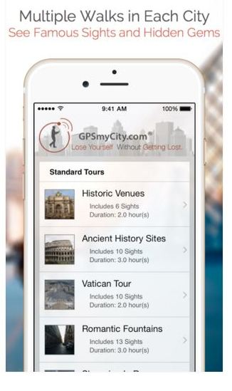 Win A Self Guided City Walks App For Your Trip Travel Life Journeys - Map your walk app