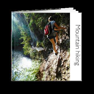 Create an Adventure Photobook - mountain hiking
