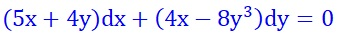 http://www.mathuniver.com/2017/10/33exact-equation-5x4ydx4x-8y3dy0.html