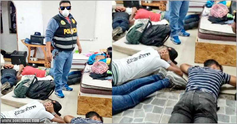 53 venezolanos detenidos en Perú por estar en una Coronaparty