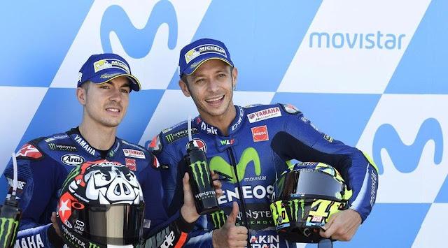 MotoGP: Bakal Bantu Vinales, Rossi Menyerah Kejar Juara?