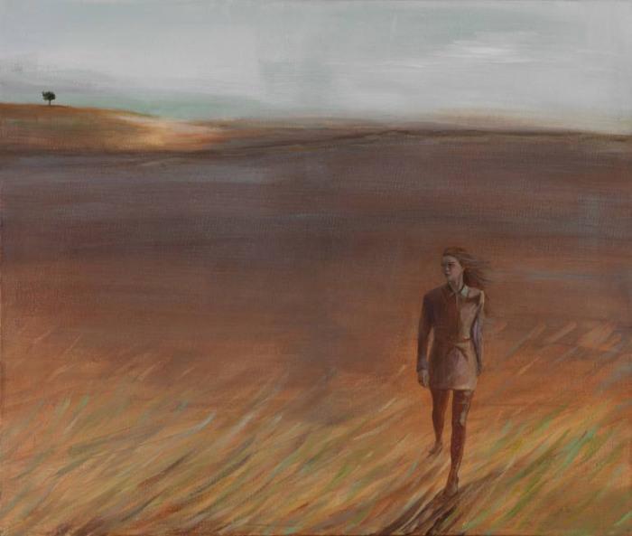 Фигуры людей на фоне пейзажей. Chrys Roboras