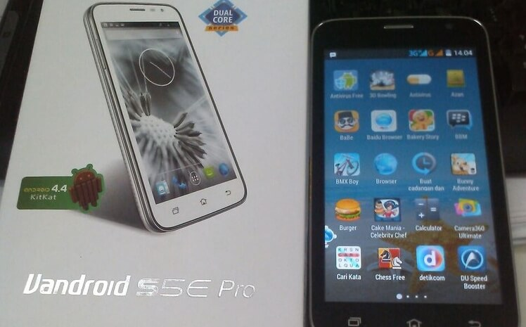 Cara Flash Hp Advan Vandroid S5E Pro Dengan Pc