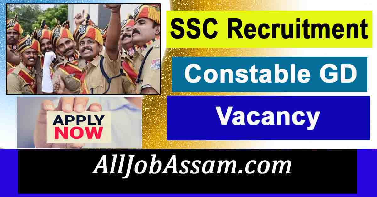 SSC Constable Recruitment 2021