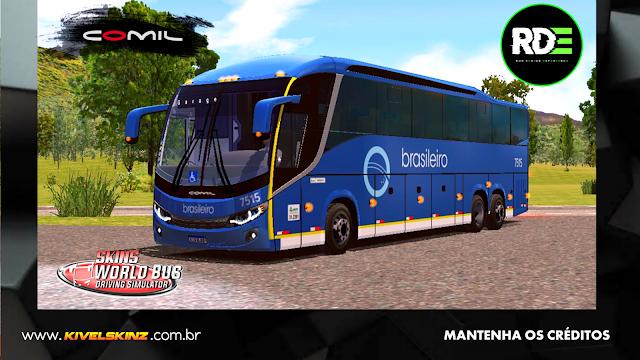 COMIL 1200 6X2 - VIAÇÃO EXPRESSO BRASILEIRO