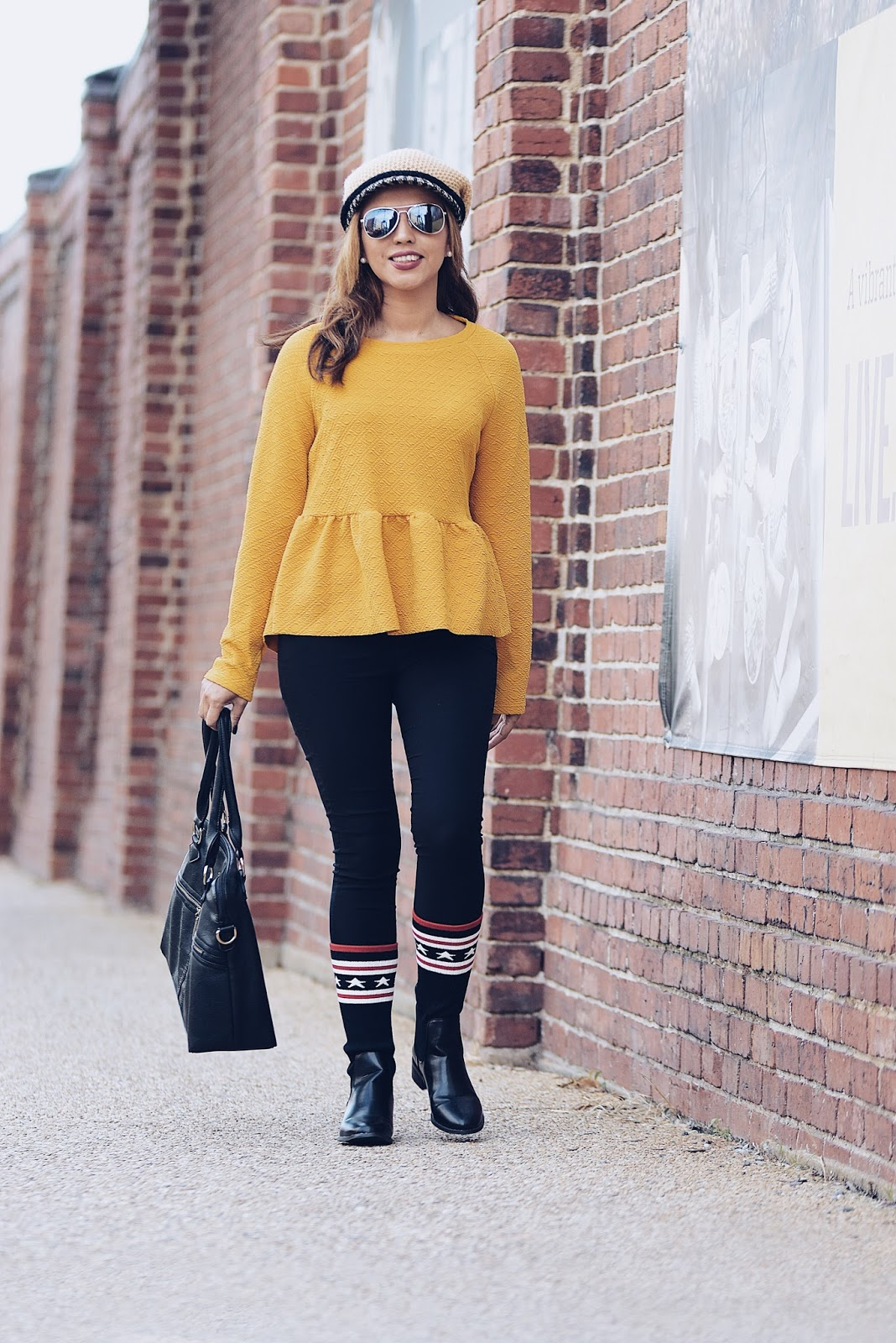 Some Mustard Yellow  by MariEstilo-look of the day-fashionblogger-streetstyle-fashionista-moda-fallfashion