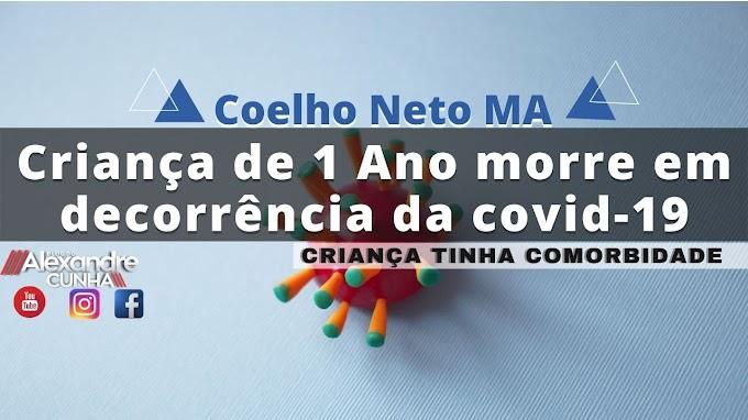 Criança de 1 Ano morre em decorrência da covid-19, em Coelho Neto