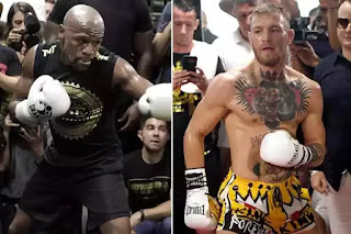 Floyd Mayweather and Conor McGregor will Fight with 8-ounce Gloves