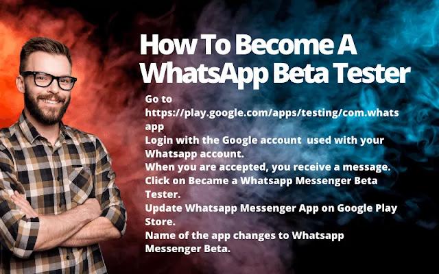 How To Become A WhatsApp Beta Tester