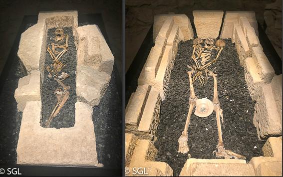 Las catacumbas de la catedral de Vitoria. Abierto por obras