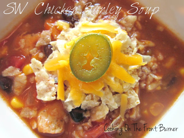 SW Chicken Barley Soup