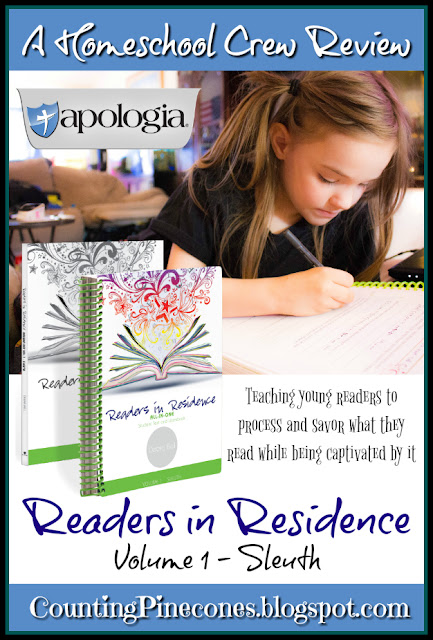 #hsreviews #readersinresidence #homeschoolreading