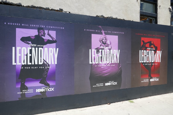 Legendary HBO Max launch posters
