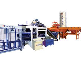 QT10-15 Automatic Block Making Machine