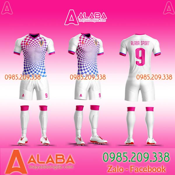 Áo bóng đá Croatia tự thiết kế