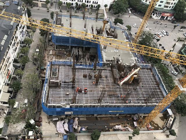 Tiến độ xây dựng chung cư DLC Complex