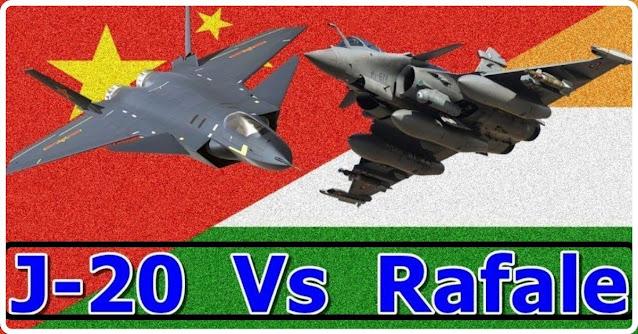 India's Rafael Vs China's J-20 Comparison  Chengdu j-20 vs Rafael  Chinese j-20 stealth fighter vs Rafael