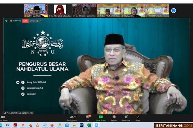 Said Aqil Siraj Jadi Narasumber Subuh Mubarak UNP, Penguatan Pendidikan Yang Qurani Era Revolusi 4.0