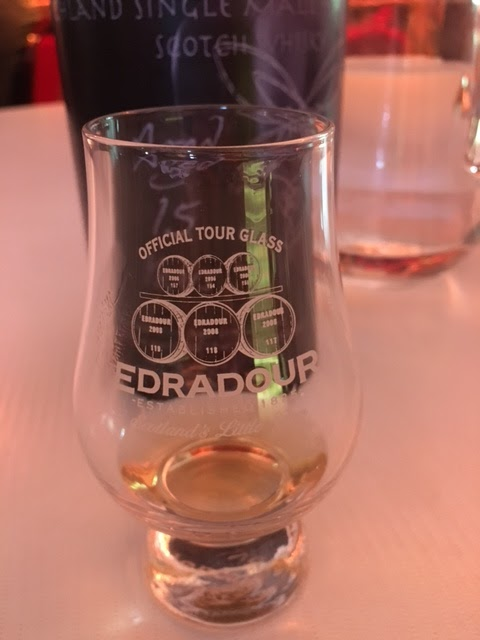 Edradour scotch tour