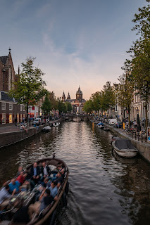 Matt Rakowski Oude Kerk Amsterdam
