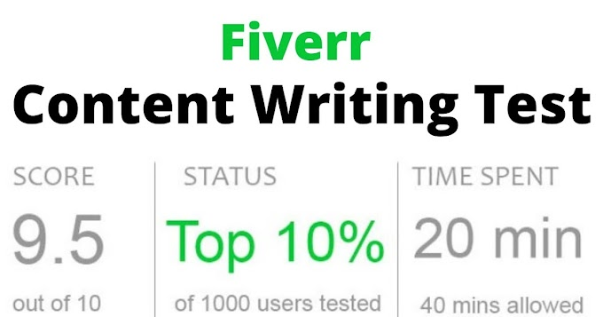 Updated: Fiverr Content Writing Test Answers 2021 - Content Writing Skills Test Fiverr