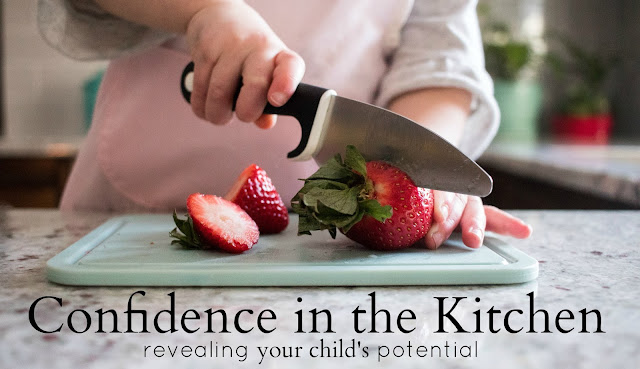 Confidence in the Kitchen, an online course and community learn how to teach your children from ages 2-6 to work in the kitchen!