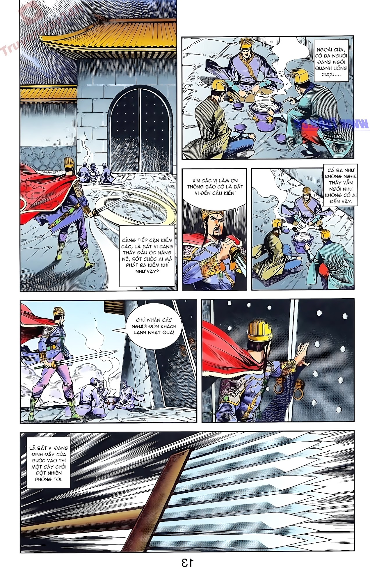 Tần Vương Doanh Chính chapter 47 trang 26