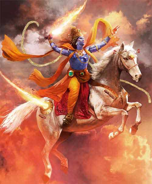 The Expected Avatar of Hindu God Vishnu