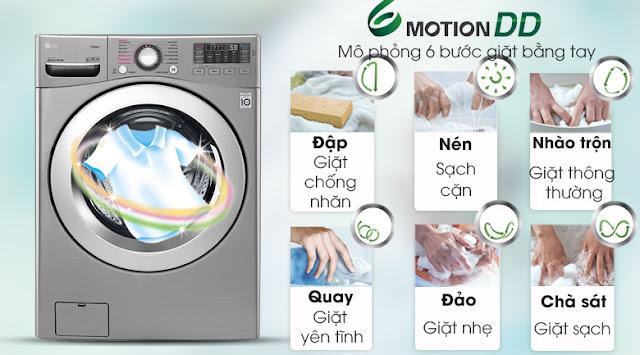 Máy giặt LG F2719SVBVB