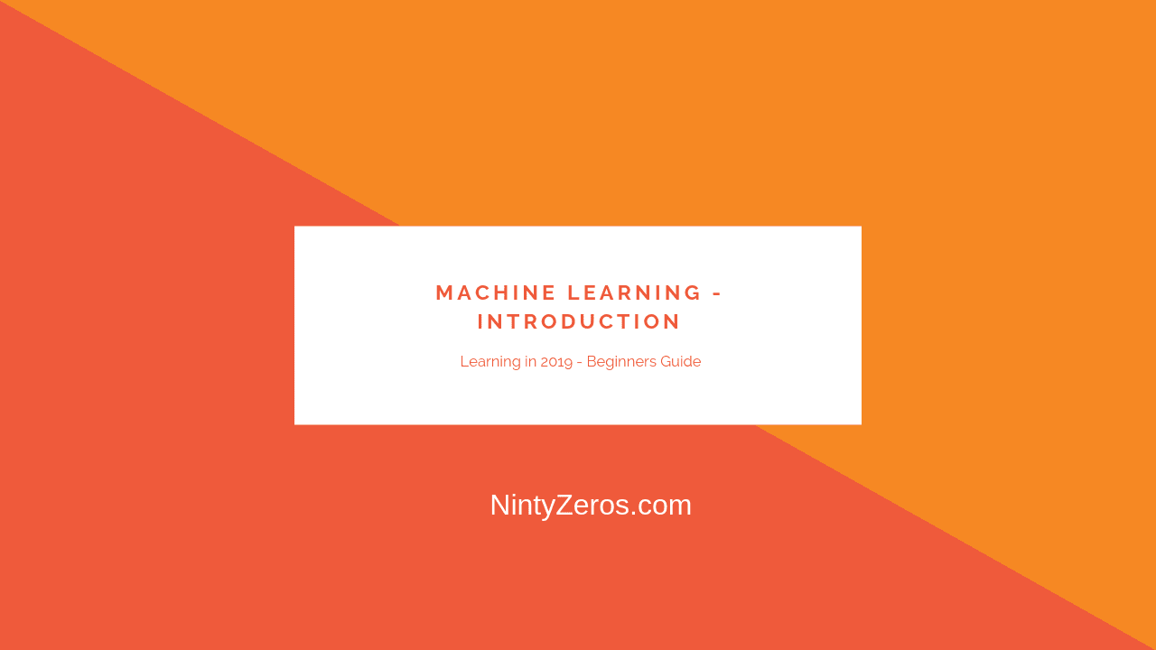 A Deep Intro to Machine Learning(Python) - A Beginners Guide