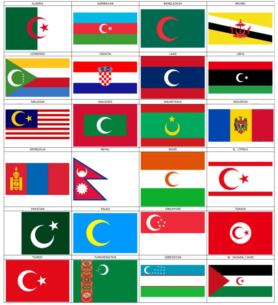 Bendera bulan bintang