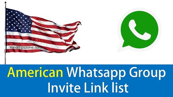 500+ American Whatsapp Group Invite Link list